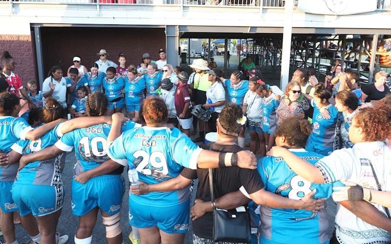 CBM Team circle after grand final